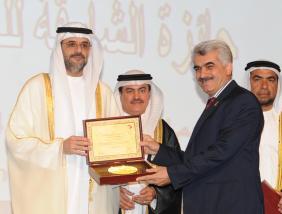 جائزة الشارقة للعمل التطوعي في مجال الاعلام المسؤول 2015